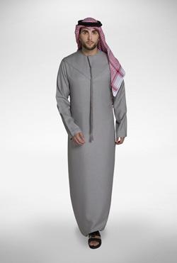 Grey Emirati Kandora