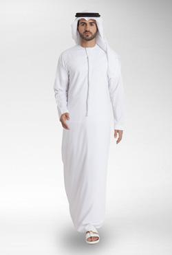 Pure White Emirati Kandora